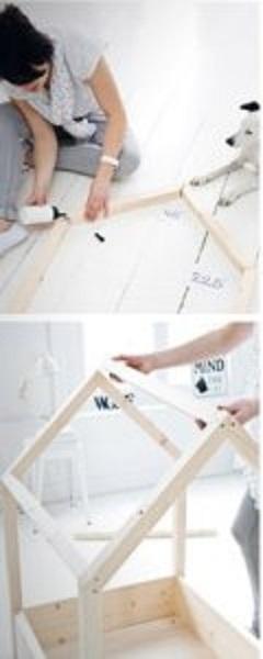 آموزش ساخت خانه چوبی برای حیوانات
